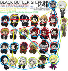 My Shipping Wall (Black Butler) by MouhisTea