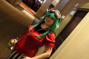 Atlanta Anime Day (Fall) 2012 -Random Gumi Cosplay by MouhisTea