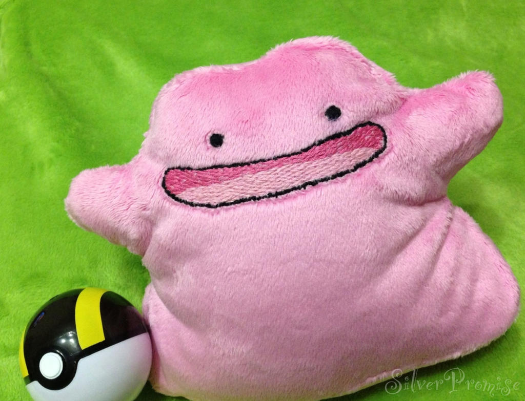Ditto plush by SilverPromise