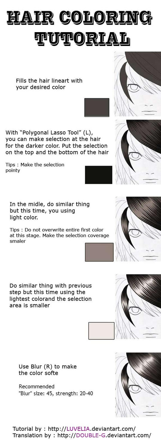 Hair Coloring Tut With Mouse by Shirei-Shou