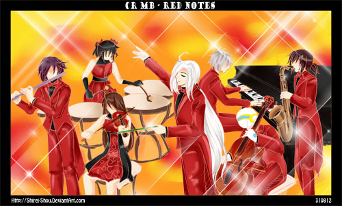 CR-MB Red Notes by Shirei-Shou