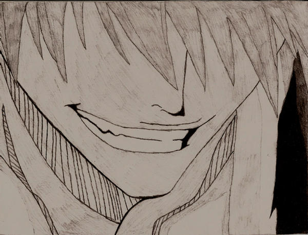 Ichigo smirk by gurrenlagann29 on DeviantArt