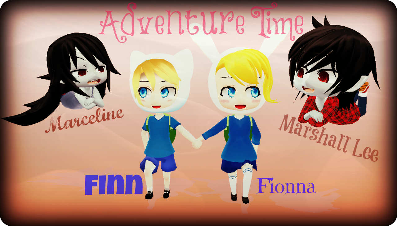 Adventure Time!! DL TIME!! by capricova