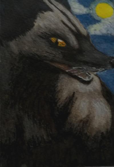 Black fox: mischief by R1nna