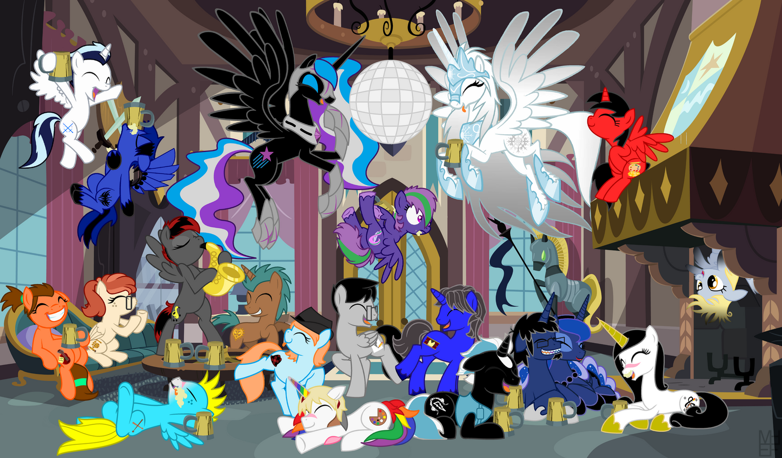 House Party by EvilFrenzy