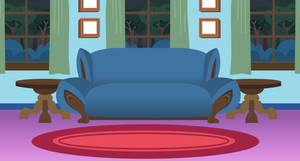 frenzys parants Living Room background by EvilFrenzy
