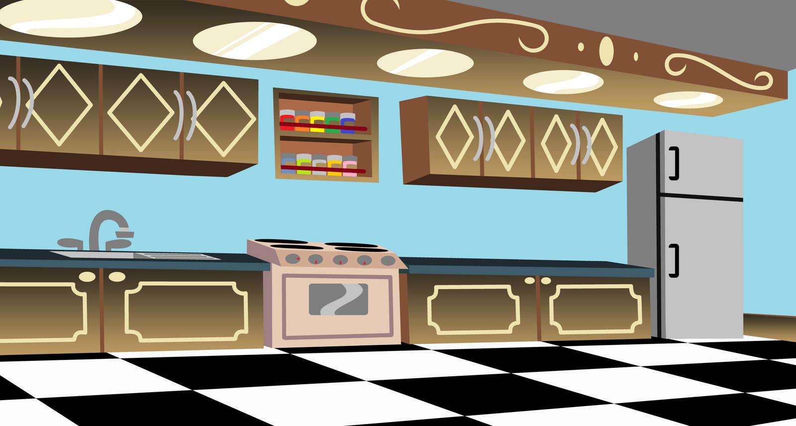 89+ Restaurant Kitchen Animated - The Restaurant Designed In Close ...