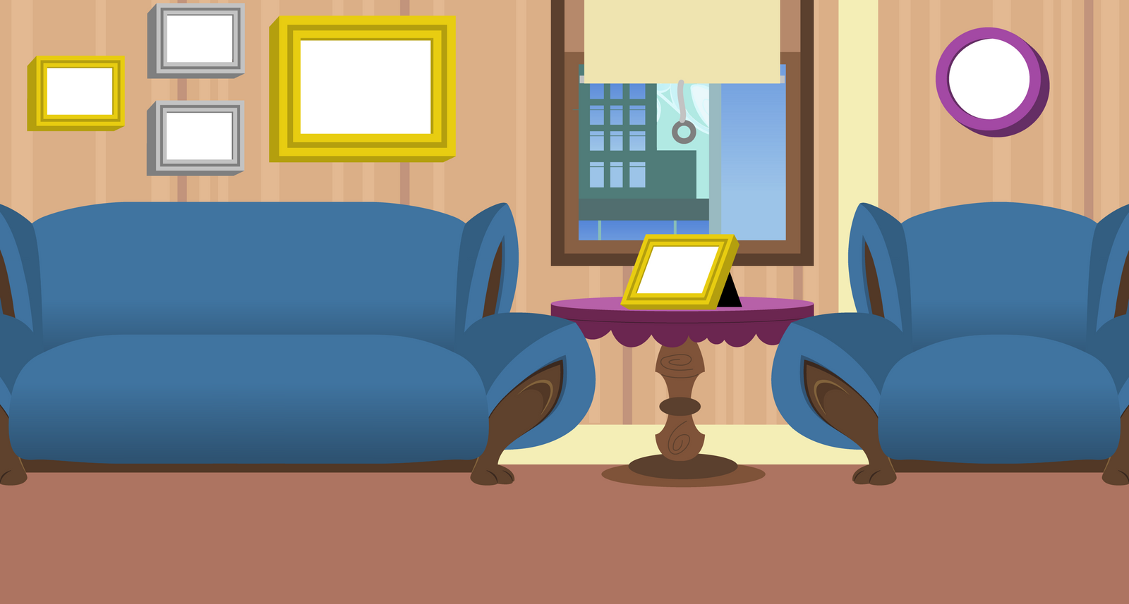 Sisters Manehatten Apartment Background By Evilfrenzy On