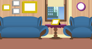Sisters Manehatten Apartment background by EvilFrenzy
