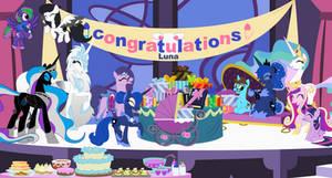 Lunas Foal Shower