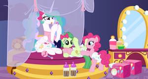 Puffy Pinkie Padding Party