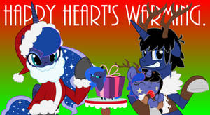 Happy Hearts Warming Greatings by EvilFrenzy