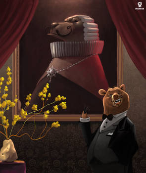 Bartholomew the Butler Bear