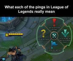 The real meaning behind each ping
