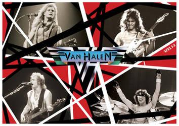 Classic Van Halen by Xfel13