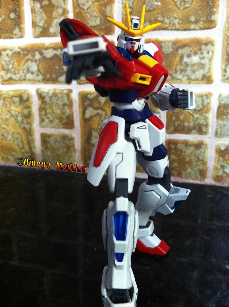 Build Burning Gundam by OmegaMaddox
