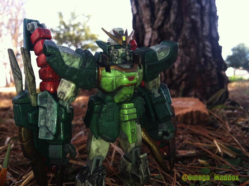 Battle Damaged by OmegaMaddox