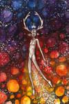 Cosmic Deer by SilverDragon78