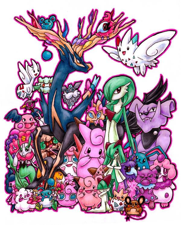 Fairy Pokemon by SilverDragon78 on DeviantArt