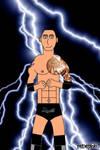 The Rock (WWE) by reneg661