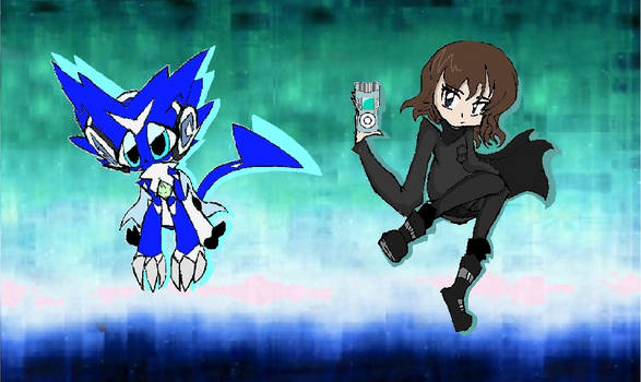Hunter Tsuki (Selene) Hayashi and Softmon
