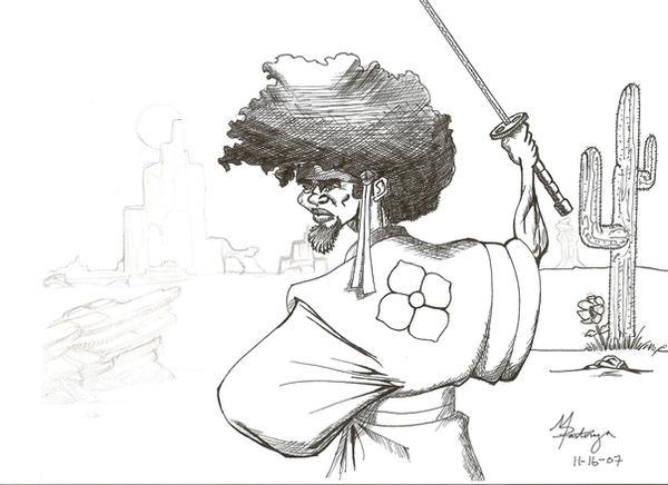 Afro Samurai by elcid423