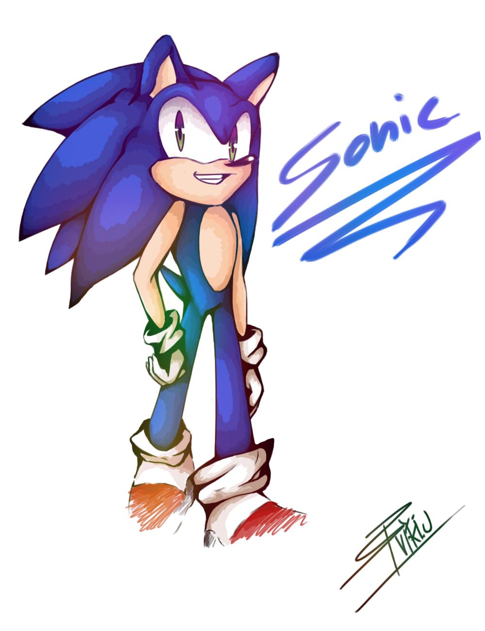 Sonic... by VIKI-J