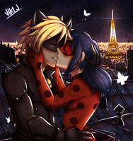 kiss under the starlight by VIKI-J