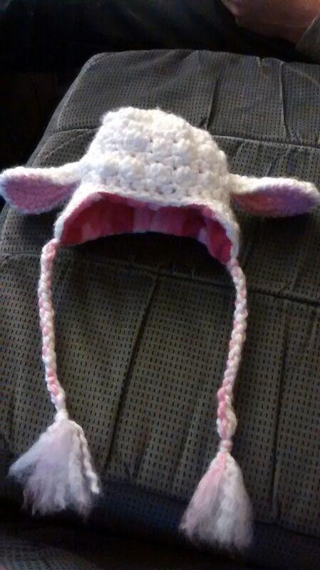 Crochet Pattern For A Lamb Hat : Crochet Sheep Hat! by RitzKitty on DeviantArt