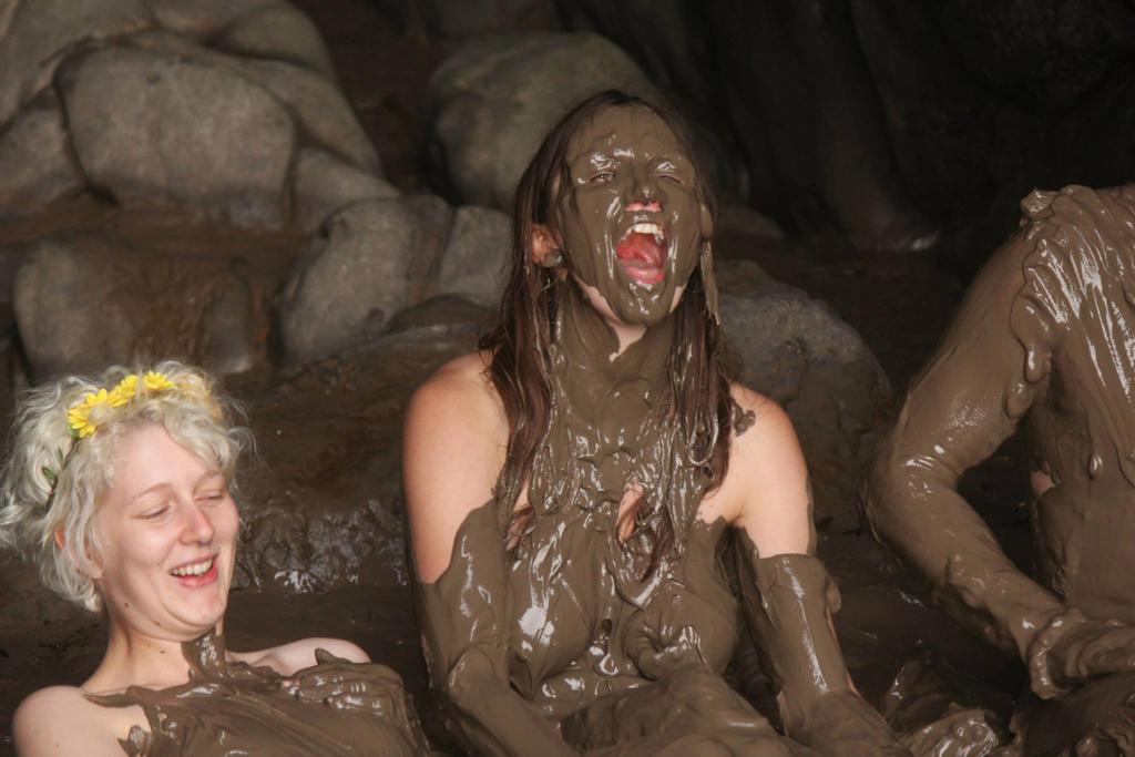 Opinion mud girl bath nude think, that