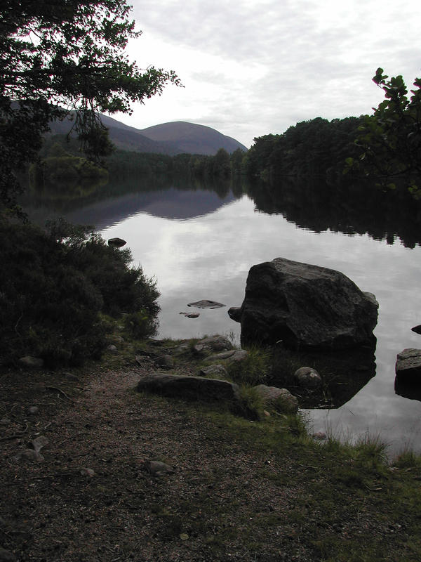 Loch an Eilen 1 by stormsorceress