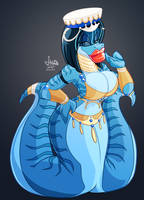 [A-T] Lady Zeo by JAMEArts