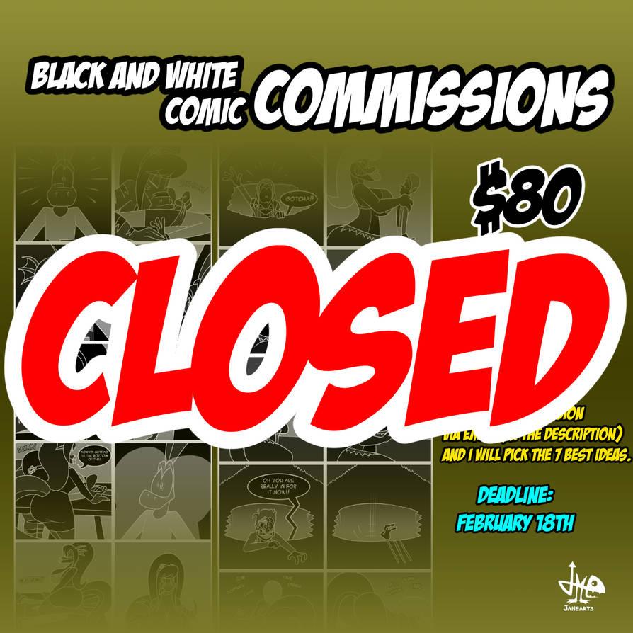 Commission comics CLOSED