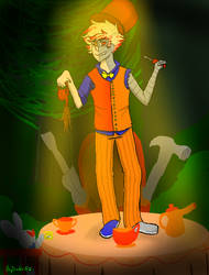 Dirk Mad Hatter by PhyDaWolf