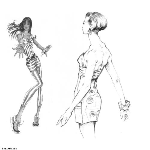 My Fashion Sketch Brush by Gibmee