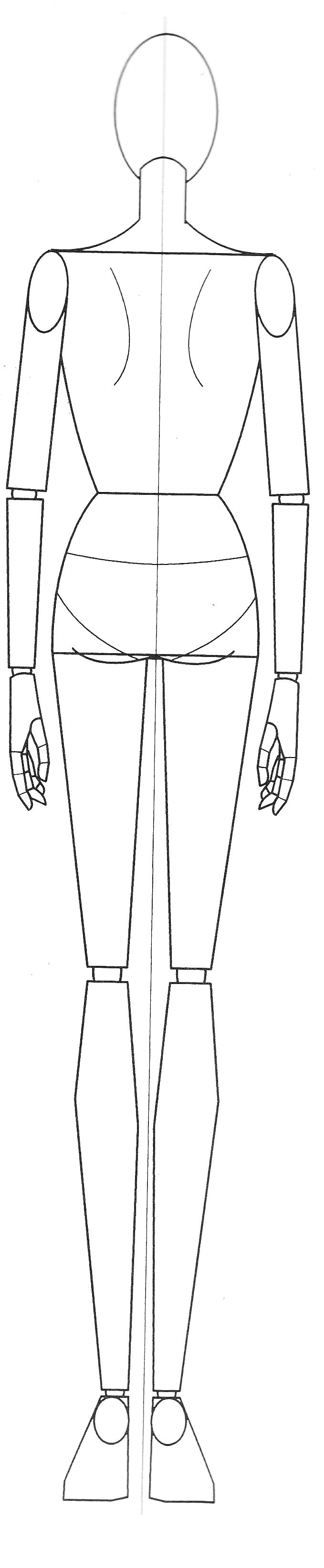 Fashion Template Female Basic By Gibmee On Deviantart