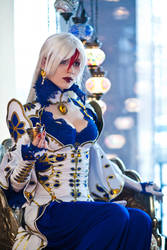 Trinity Blood. Astha-san by MarionetteTheatre