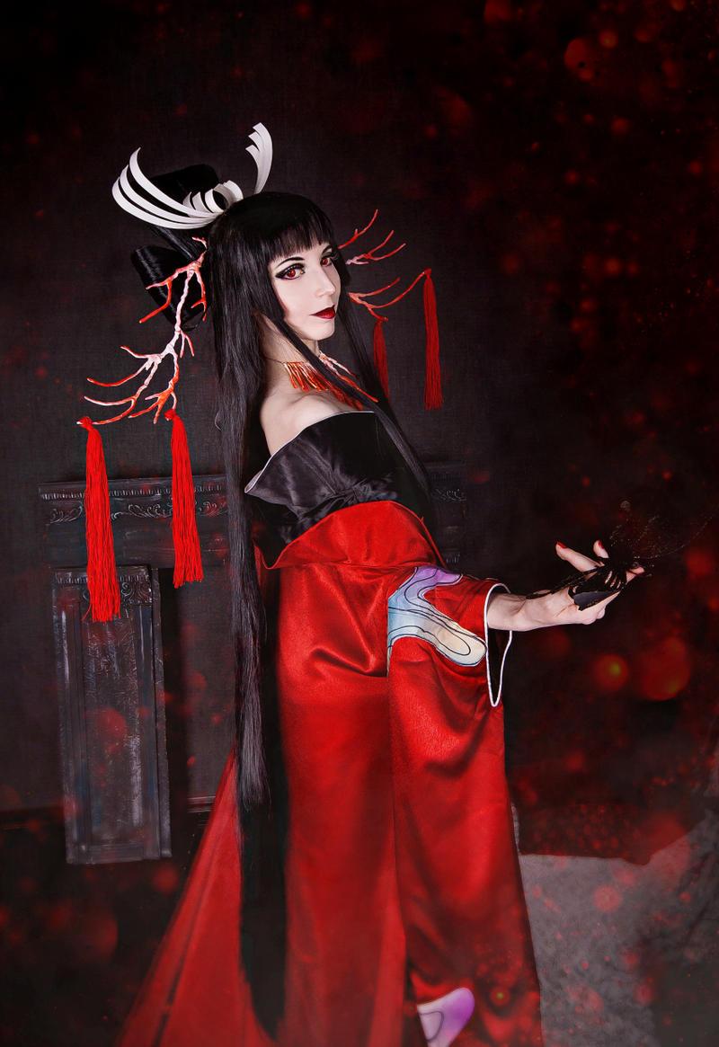Ichihara Yuuko: Black Butterfly by MarionetteTheatre