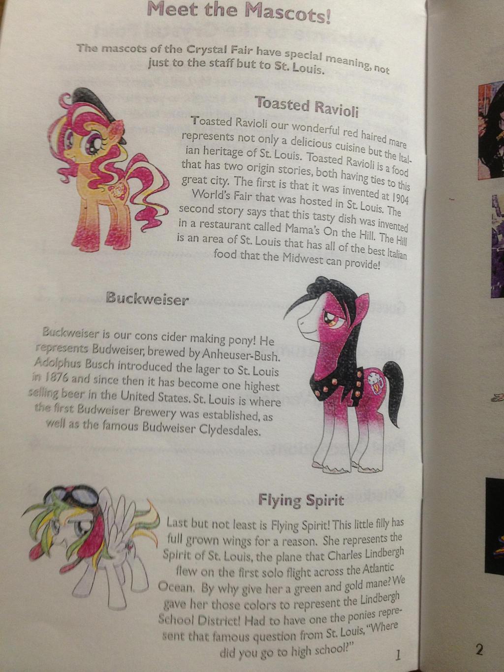 Crystal Fair Mascots by XD-385
