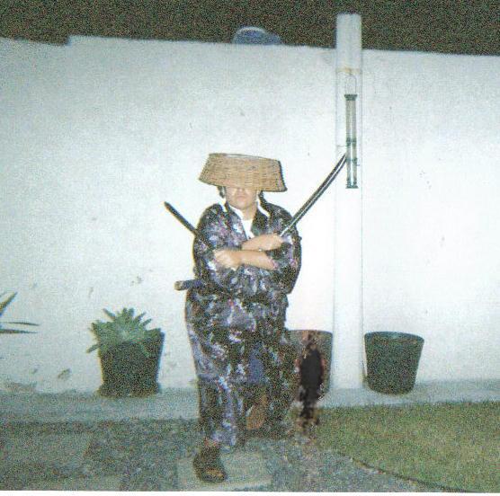 The modern Samurai by XD-385