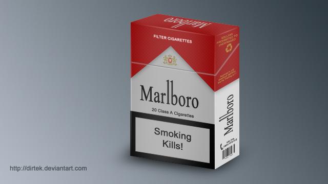 Marlboro Pack by DirTek