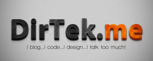 DirTek dot Me Banner by DirTek