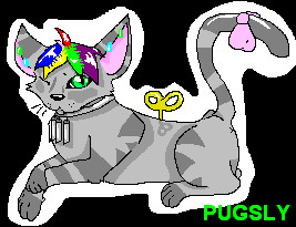 Kitty by PugslyHasFriends