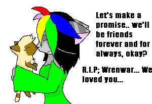 R.I.P, Wren... by PugslyHasFriends