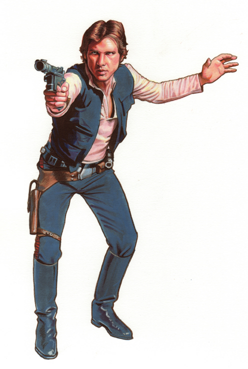 Star Wars:Rebel Force Han Solo by Randy-Martinez