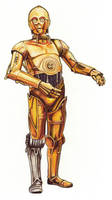 Star Wars:Rebel Force art C3P0