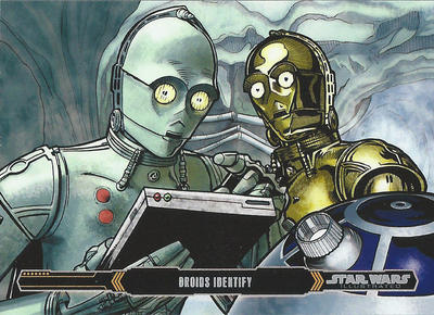 Topps Empire Strikes Back Illustrated #9 by Randy-Martinez