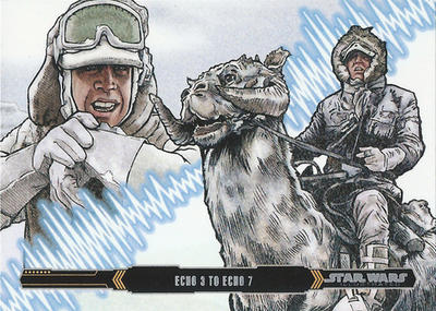 Topps Empire Strikes Back Illustrated #7 by Randy-Martinez