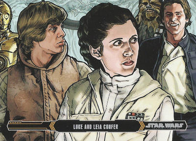 Topps Empire Strikes Back Illustrated Card #5 by Randy-Martinez