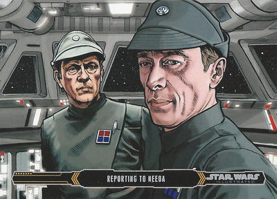 Topps Empire Strikes Back Illustrated #3 by Randy-Martinez